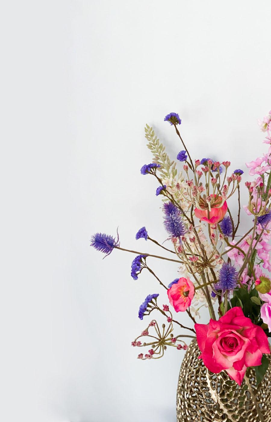 kunstbloemen veldboeket